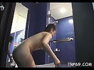 Agile thai beauty shows off on web camera