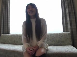 Skinny asian teen Kina Kai hardcore pov asian