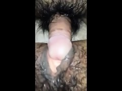 Hairy Cunt In Close UP
