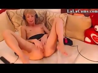 18 Perfect Body LaLaCams.com Hot Teenager Fisting P1