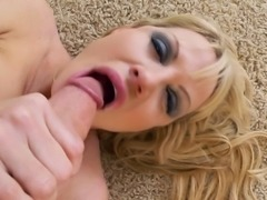 Kelly Madison's tight pussy fucked as she plays with a dildo
