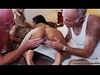 Fat old horny guy Staycation with a Latin Hottie