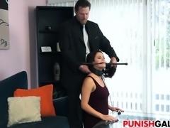 Punishing cheating girlfriend Blair Summers