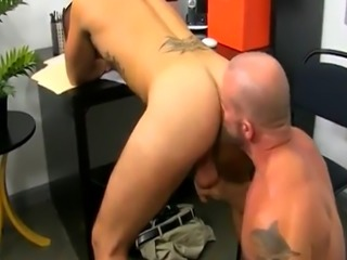 Latex emo boy gay sex The stud share their oral skills with