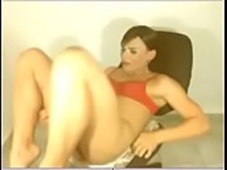 Beautiful Colombian shemale plays on webcam - part 2 - DickGirls.xyz