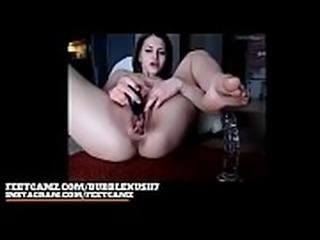 Bubblekush7 8min barefeet pussy play sole   FeetCamz.com