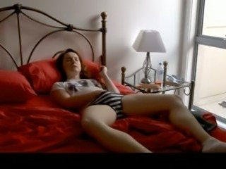 Nice ex-GF of mine once taped her own steamy and sensual solo show