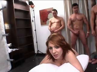 Eli Tetona joins her horny friends for a great group sex game