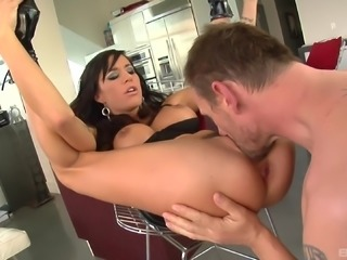 Gia Dimarco's tight anal hole fucked well by an experience man