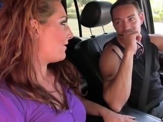 Picked up in the street nympho Savannah Fox gets nailed rather hard