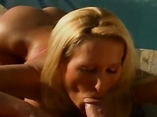 Sexy busty Zana blowjob