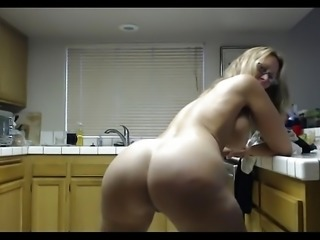 Hot mature momma loves to twerk for horny son