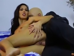 husband allows a bald man to fuck his wife alexa tomas for a lottery ticket