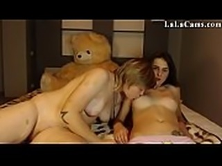 Amateur Girlfriend LaLaCams.com Stunning Student Fingering Part 1