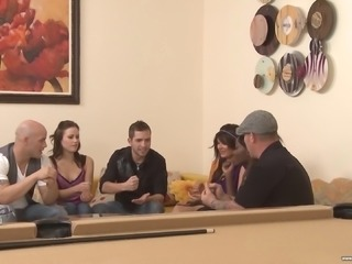 Osa Lovely and Sindee Jennings enjoy a great orgy with hot friends