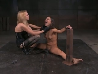 Kalina Ryu loves being dominated and this BDSM video proves it