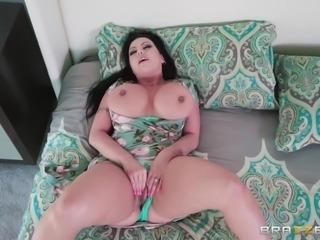 Her massive boobs were such a turn on, that he couldn't deny her request to...