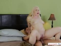 Lovely blonde Hadley Viscara rides dick like a seasoned veteran