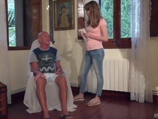 Fira Ventura is interested in a mature fellow's swollen penis