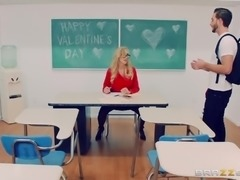 Brandi Love is a horny teacher seduced by a nasty guy