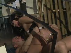 Angela Gritti cannot resist a man's pulsating boner