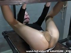 Karina's first pee hole hard fuck