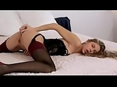 Wowgirls------Anjelica playing with her ass
