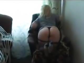 Russian Big Arse Blonde Fucking & Conversations