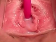 Close up pussy masturbation