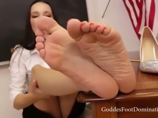 sexy teacher feet joi