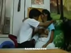 Horny desi girl sucking cousin cock