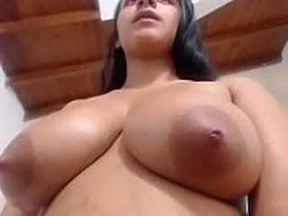 Nice boobs Latina milf on free cam