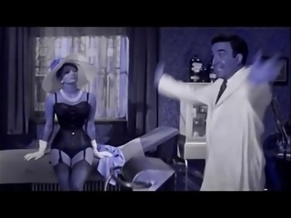Sophia Loren in Lingerie and Nylons (Recolored)