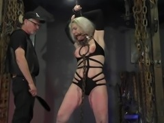 sex slave gets turned on by pain