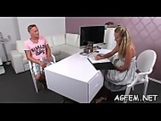 Female agent adores fucking around