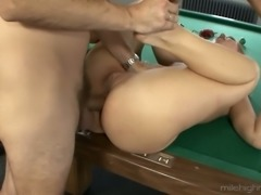Extremely hard anal banging suits perfectly to please dirty Linda Ray