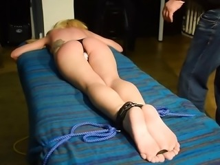 Blonde's Flogging