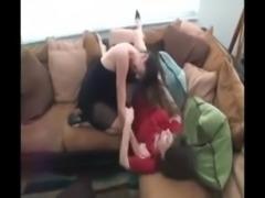 Lesbian fight