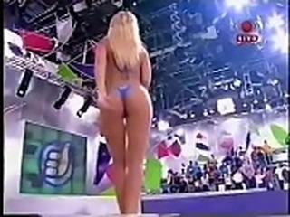 Vivi Fernandez, Cinthia Anderson &amp_ Simone Castro strip Super Positivo