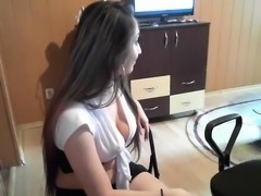 amateur blue ash flashing boobs on live webcam