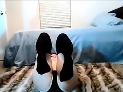 Young Webcam Teen Foot Fetish
