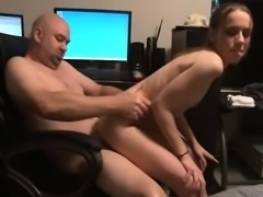 Petite young redhead fucked doggystyle