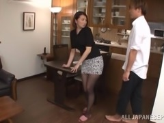 Adorable Mio Takahashi Goes Hardcore In The Office