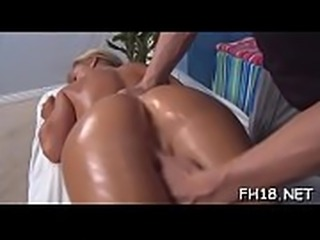 Full body massage episode scene