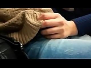 Sucking a stranger on public