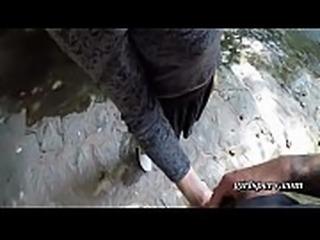public agent lost tourist fucked outside under a bridge