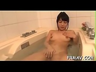 Raw oriental blow job and titty fuck