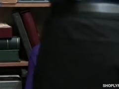 Suspected blonde hottie Jessica Jones has to ride cop's strong dick