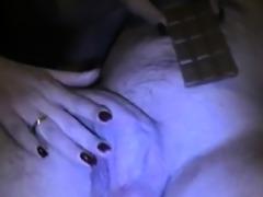 My wife proudly sucks my boner on webcam