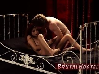 Latex sex slave and thief bondage Poor little Jade